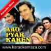Chand Se Parda Kijiye Karaoke (English Lyrics) -Video 1