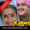 Mera Karma Tu Mera Dharma Tu Karaoke (Hindi Lyrics) - Video 2