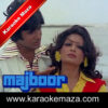 Roothe Rab Ko Manana Karaoke (With Female Vocals) - Video 1