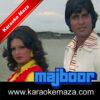 Roothe Rab Ko Manana Karaoke - Video 1