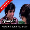 Somwar Ko Hum Mile Karaoke (With Female Vocals) - Video 1