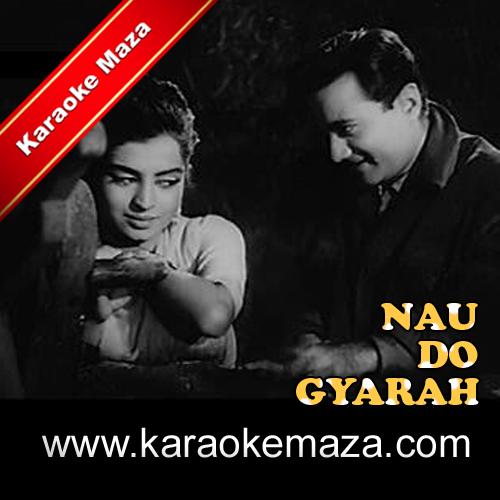 Aankhon Mein Kya Ji Karaoke (Hindi Lyrics) - Video 3