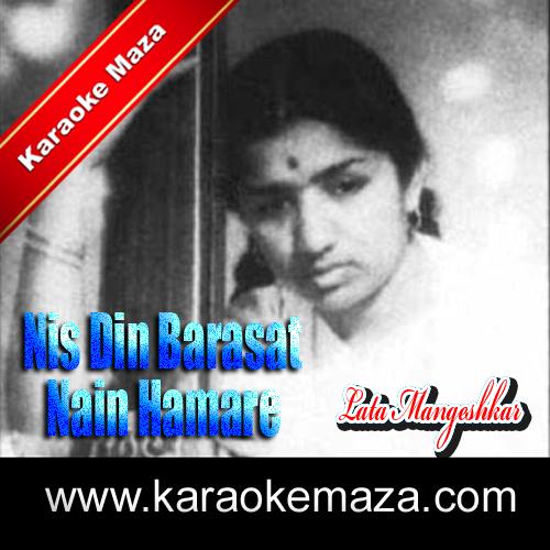 Nis Din Barasat Nain Hamare Karaoke - Mp3 3