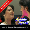 Saat Rang Me Khel Rahi Hai Karaoke (English Lyrics) - Video 1