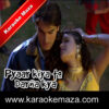 Teri Jawani Badi Mast Mast Hai Karaoke (Hindi Lyrics) - Video 2