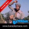 Main Dhool Ka Udta Badal Karaoke (Hindi Lyrics) - Video 1