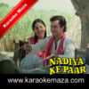 Kaun Disa Mein Leke Karaoke With Female Vocals - Mp3 1