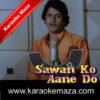 Patthar Se Sheesha Karaoke (English Lyrics) - Video 1
