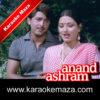 Tum Itni Sundar Ho Karaoke (English Lyrics) Anand Ashram Video 1