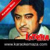 EK Gham Par Ek Aur Sahi Karaoke (Hindi Lyrics) - Video 2