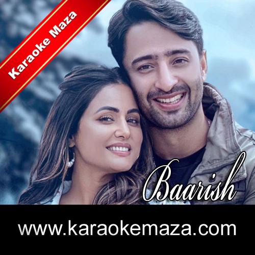 Baarish Ban Jaana Karaoke With Female Vocals (English Lyrics) - Video 3