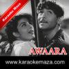 Dum Bhar Jo Udhar Munh Phere Karaoke - Mp3 1