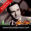 Gham E Dil Kis Se Kahoon Karaoke (English Lyrics) - Video 1