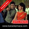 Aajkal Tere Mere Pyar Ke Karaoke With Female Vocals (Hindi Lyrics) - Video 2