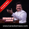 Deewaron Se Milkar Rona Karaoke - Mp3 1