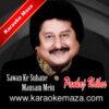 Sawan Ke Suhane Mausam Mein Karaoke (Hindi Lyrics) - Video 2