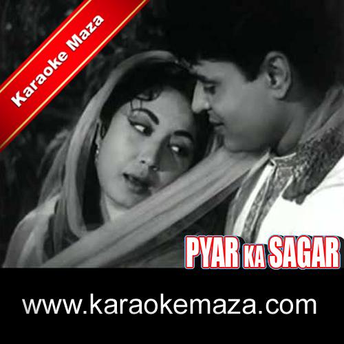 Mujhe Pyar Ki Zindagi Karaoke With Female Vocals (English Lyrics) - Video 3